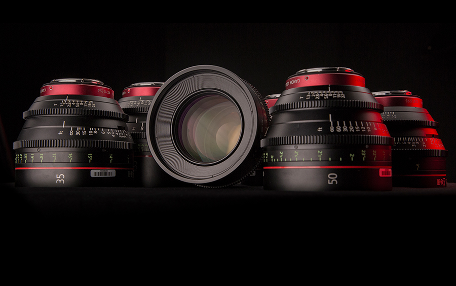 Canon CNE lens set - 6 Lenses | Ontario Camera Rental is a