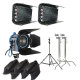 Interview lighting kit for rental Toronto