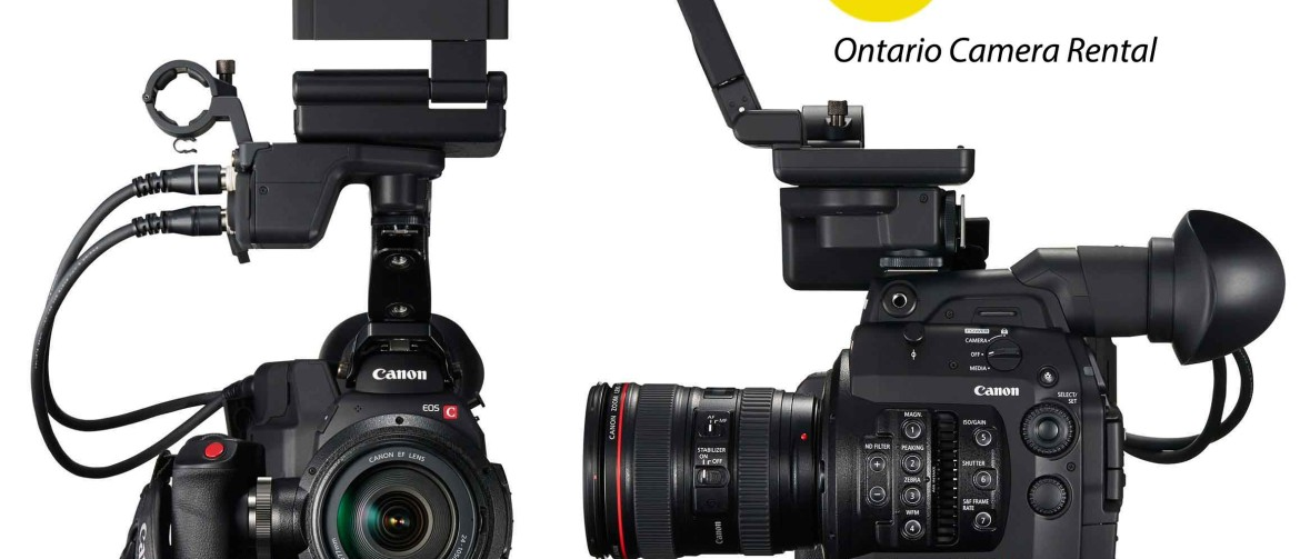 Camera rental Toronto Canon C300 Mark II