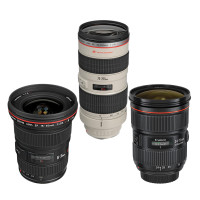 Canon Lens kit rental Toronto
