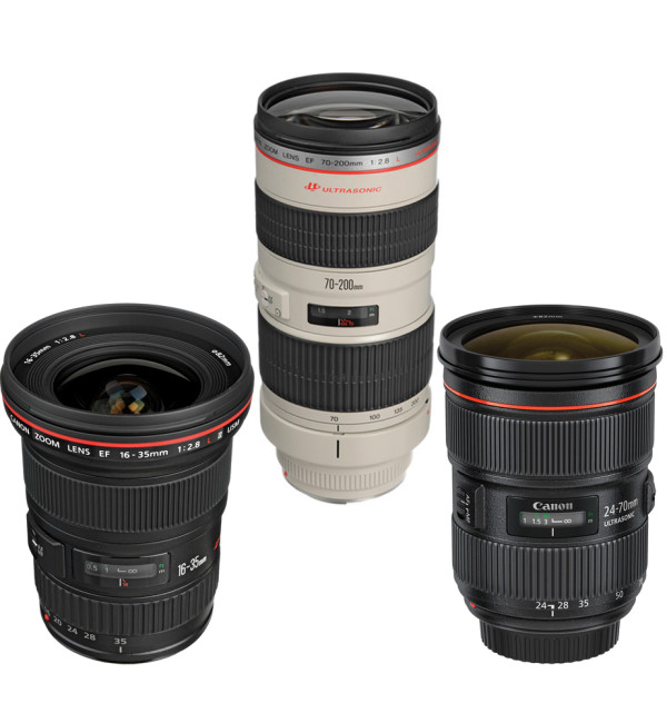 Canon Lens kit rental Toronto