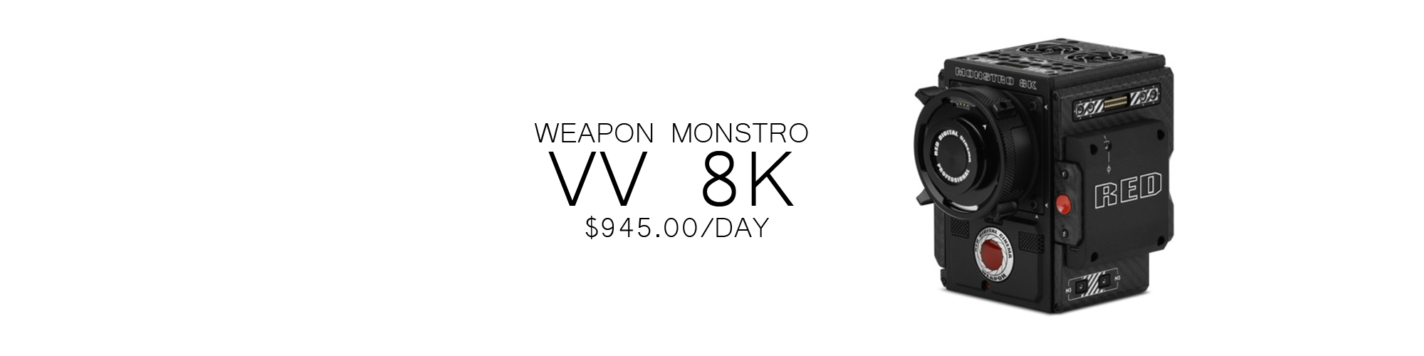 Weapon Monstro RENTALS TORONTO